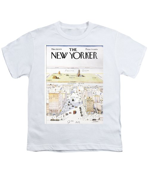 View From 9th Avenue Youth T-Shirt