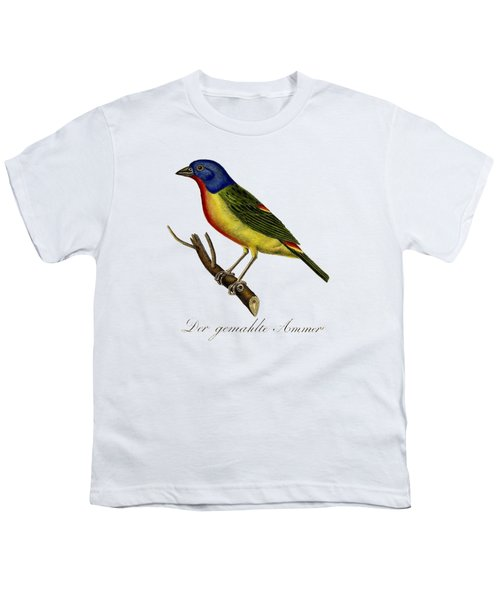The Painted Bunting Youth T-Shirt by Unknown