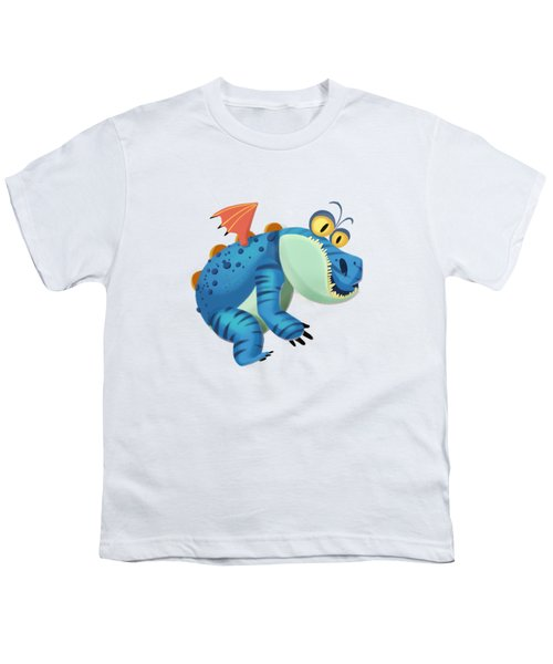 The Sloth Dragon Monster Youth T-Shirt by Next Mars