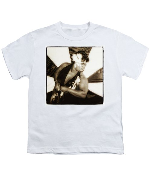 Youth T-Shirt featuring the photograph The Spirit Club. Another Tenderloin by Mr Photojimsf