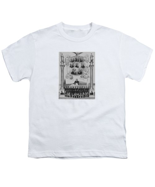 The Union Must Be Preserved Youth T-Shirt by War Is Hell Store