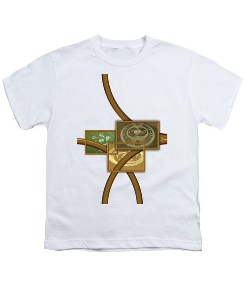 The World Of Crop Circles By Pierre Blanchard Youth T-Shirt by Pierre Blanchard