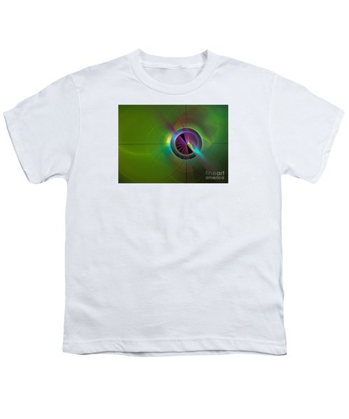 Theory Of Green - Abstract Art Youth T-Shirt