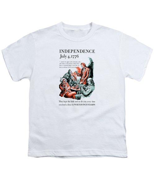 They Kept The Faith - Ww2 Youth T-Shirt