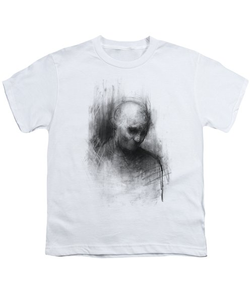 Thinker II Youth T-Shirt by Bruno M Carlos