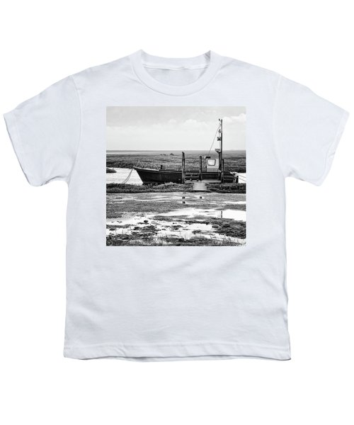 Thornham Harbour, North Norfolk Youth T-Shirt by John Edwards