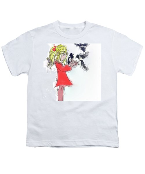 Three For A Girl - Work In Youth T-Shirt