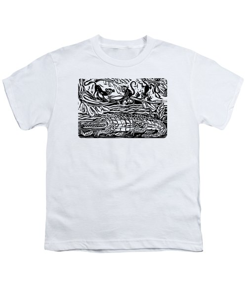 Three Little Monkeys  Youth T-Shirt
