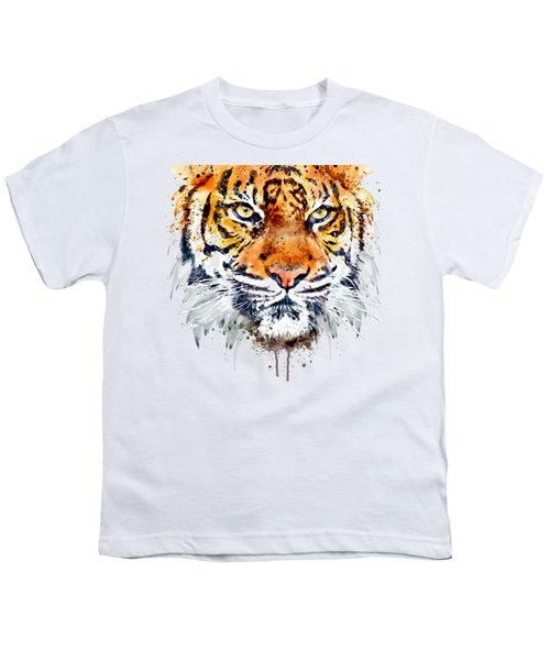 Tiger Face Close-up Youth T-Shirt