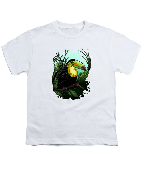 Toucan Youth T-Shirt by Adam Santana