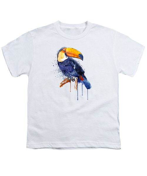Toucan Youth T-Shirt by Marian Voicu