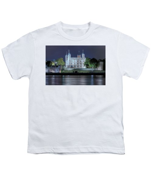 Tower Of London Youth T-Shirt by Joana Kruse