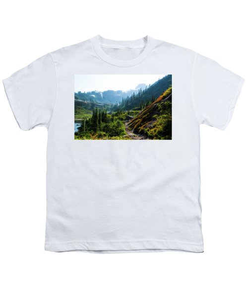 Trail In Mountains Youth T-Shirt