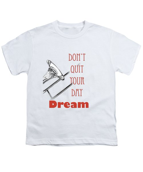 Trombone Fine Art Photographs Art Prints 5017.02 Youth T-Shirt