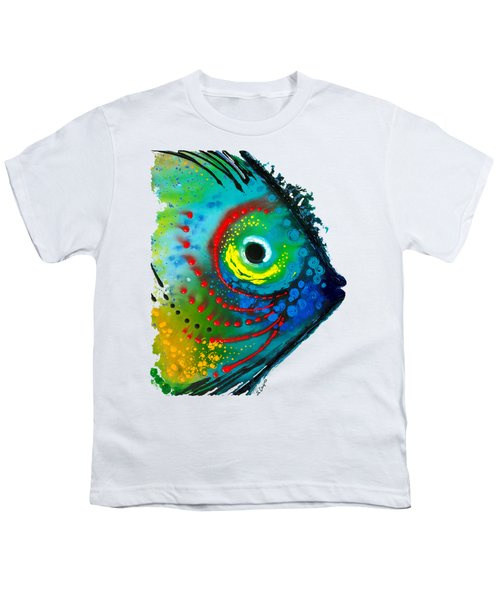 Tropical Fish - Art By Sharon Cummings Youth T-Shirt by Sharon Cummings