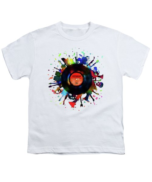 Unplugged Youth T-Shirt by Mustafa Akgul