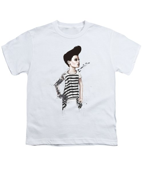 untitled II Youth T-Shirt by Balazs Solti