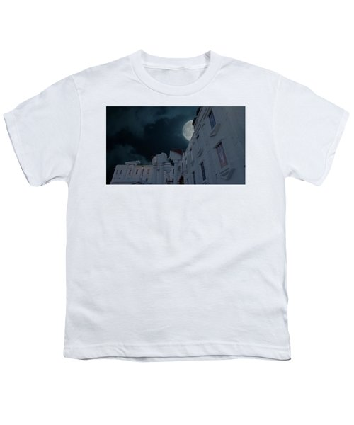 Upside Down White House At Night Youth T-Shirt