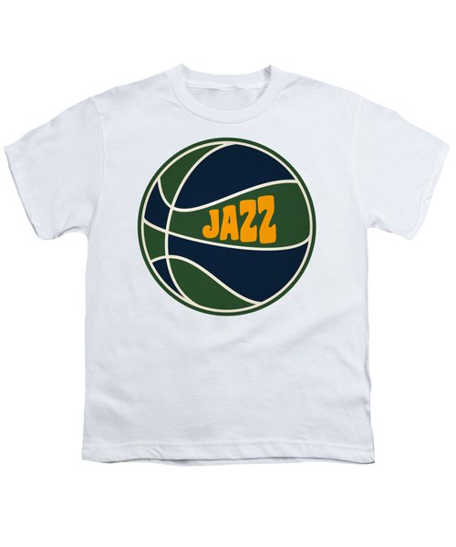 Utah Jazz Retro Shirt Youth T-Shirt