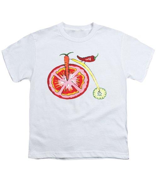 Veggie Bike Youth T-Shirt