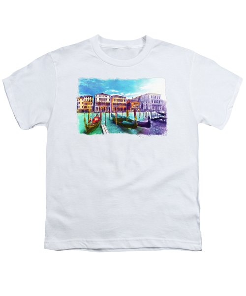 Venice Youth T-Shirt by Marian Voicu