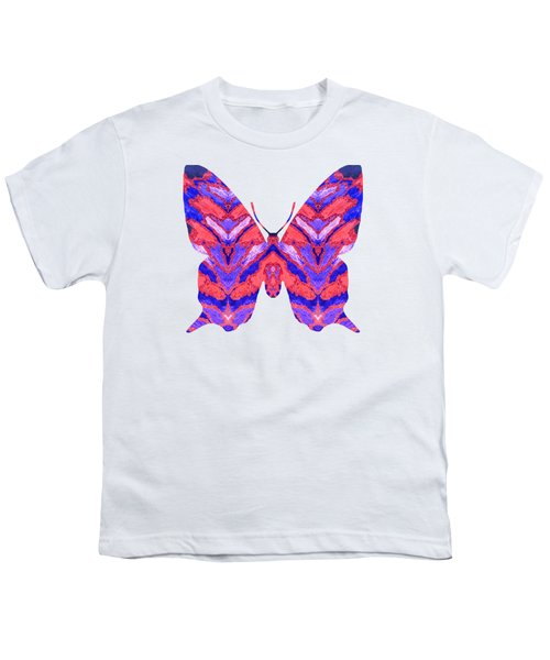 Vibrant Butterfly  Youth T-Shirt