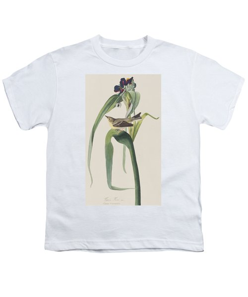 Vigor's Warbler Youth T-Shirt by John James Audubon