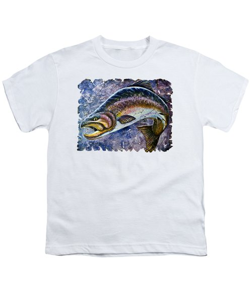 Vintage Blue Trout Fresco  Youth T-Shirt