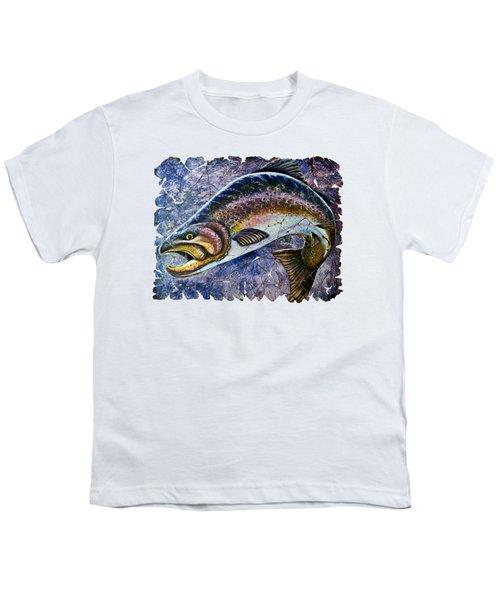 Vintage Blue Trout Fresco  Youth T-Shirt