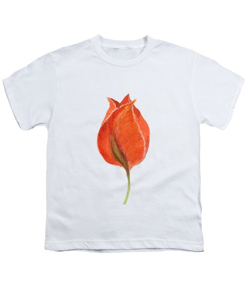 Vintage Tulip Watercolor Phone Case Youth T-Shirt