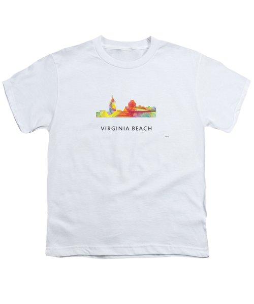 Virginia Beach  Virginia Skyline Youth T-Shirt