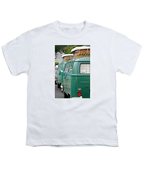 Vw Buses #carphotographer #vw #vwbus Youth T-Shirt by Jill Reger