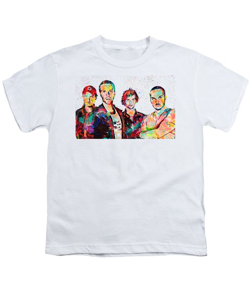 Watercolor Coldplay Youth T-Shirt