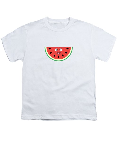Watermelon Ornament Youth T-Shirt by Alina Krysko