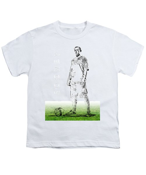 Wayne Rooney Youth T-Shirt by ISAW Gallery