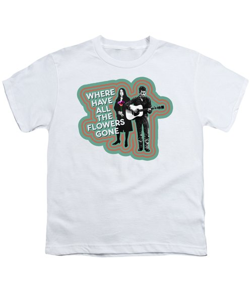 Where Have All The Flowers Gone Youth T-Shirt by David Richardson