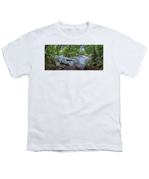 Youth T-Shirt featuring the photograph Wilderness Waterway by Bill Pevlor