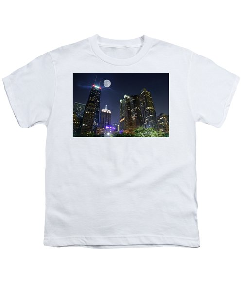 Windy City Youth T-Shirt by Frozen in Time Fine Art Photography