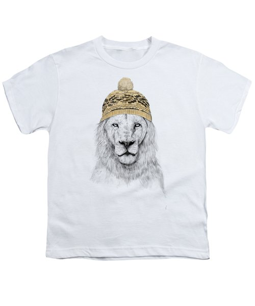 Winter Is Coming Youth T-Shirt by Balazs Solti