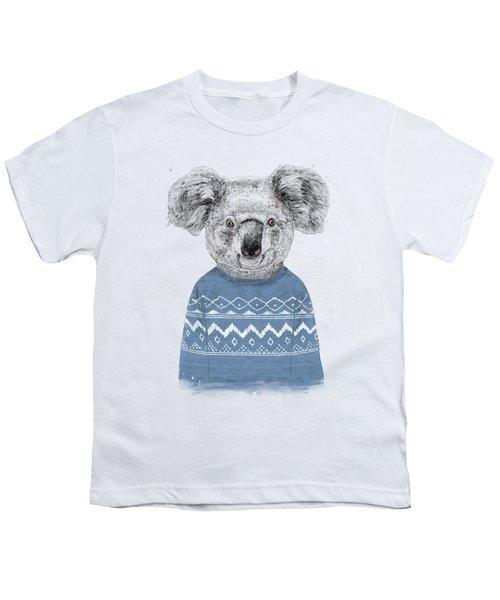 Winter Koala Youth T-Shirt