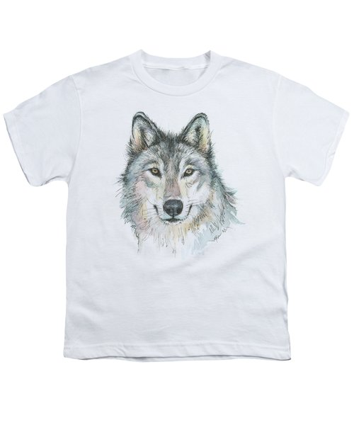 Wolf Youth T-Shirt by Olga Shvartsur