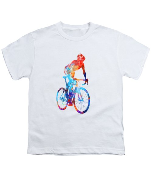 Woman Triathlon Cycling 06 Youth T-Shirt