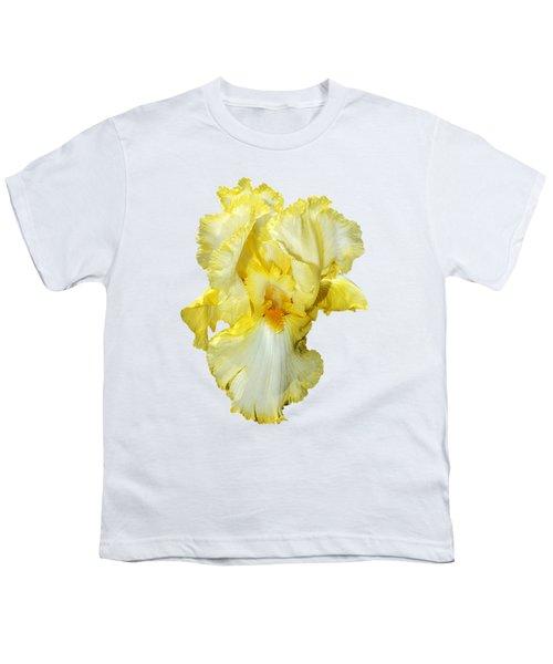 Yellow Mist Iris Youth T-Shirt