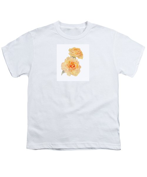 Yellow Roses Youth T-Shirt by Beatrice Cloake