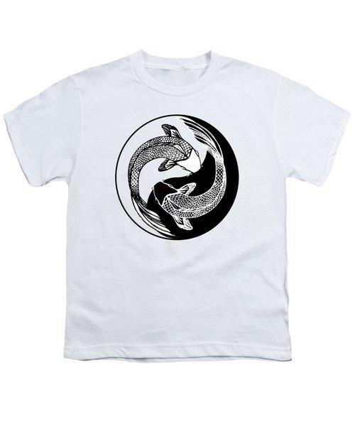 Yin Yang Fish Youth T-Shirt