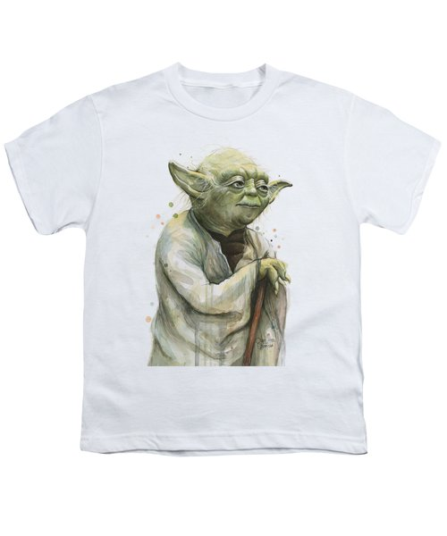 Yoda Portrait Youth T-Shirt