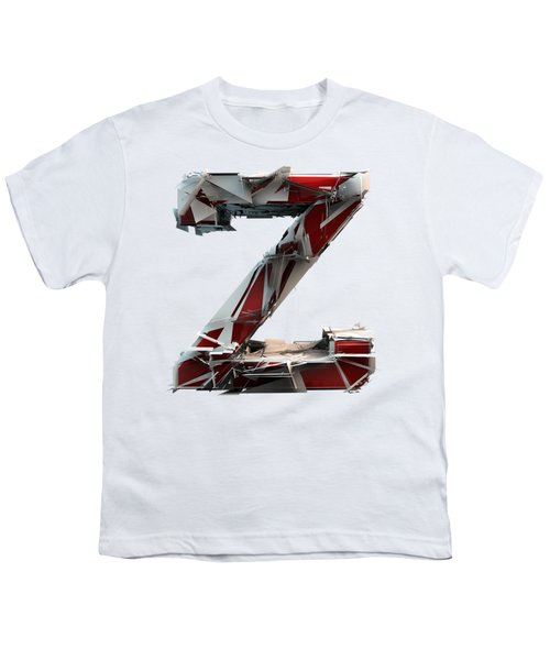 Youth T-Shirt featuring the photograph Z Is For Zebra by Gary Keesler