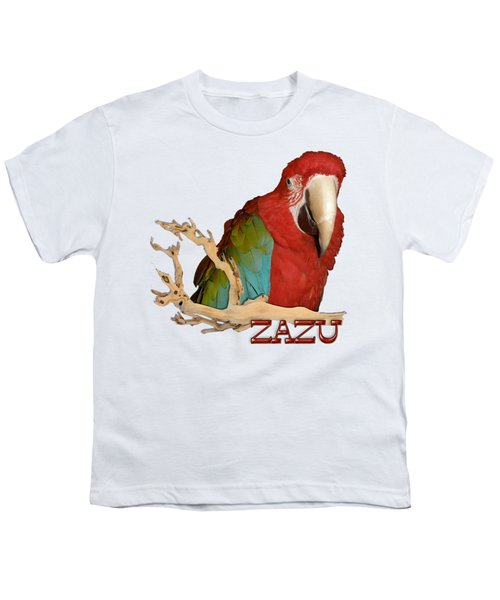Zazu With Branch Youth T-Shirt