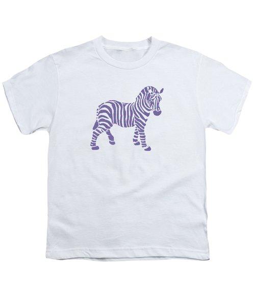 Zebra Stripes Pattern Youth T-Shirt