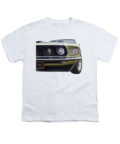 1969 Mustang Mach 1  Youth T-Shirt